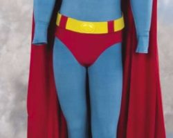 Gerard Christopher Superboy costume from Superboy (TV)