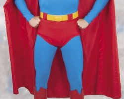 Christopher Reeve Superman costume from Superman III