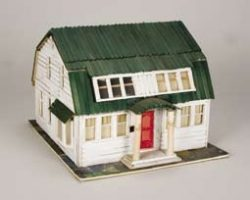 Miniature houses from A Nightmare on Elm Street 3