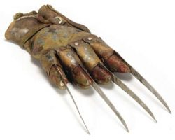 Hero Freddy glove from A Nightmare on Elm Street 5