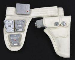 Prop laser gun, holster and belt – The Last Starfighter