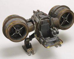 Space Helijet miniature with helmet – Space Precinct