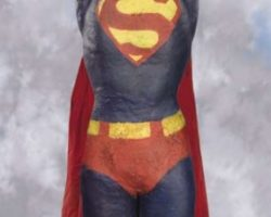 SFX Superman Movie Prop figure from Superman II