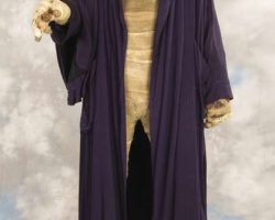 Liam Neeson costume and display from Darkman