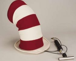 Mike Myers working movie pop top hat from The Cat in the Hat