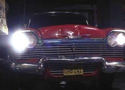 "1958 Plymouth Fury grill from ""Moochie"" in Christine"