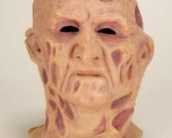 Freddy Krueger stunt mask from Nightmare on Elm Street