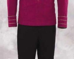 Starfleet Admiral duty uniform from Star Trek TNG