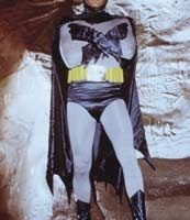 Adam Wests personal Batboots worn in Batman