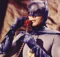 Adam Wests personal Batgloves worn in Batman