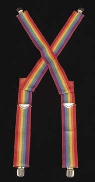 "Robin Williams ""Mork"" suspenders from Mork & Mindy"