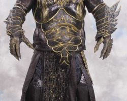 Complete Brain Scarran costume from Farscape