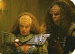 Klingon lighted notepad from Star Trek: Generations