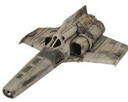 Antique Viper filming miniature – Battlestar Galactica