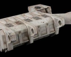 Escape movie prop pod space ship miniature from Alien 3