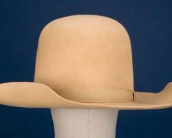 "Dan Blocker signature hat worn as ""Hoss"" in Bonanza"