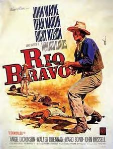 John Wayne western ensemble from Rio Bravo