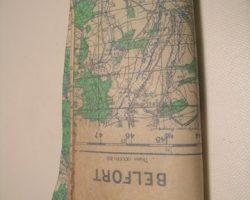 Inglourious Basterds Lt. Aldo Raine Brad Pitt Map