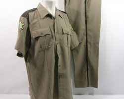 Scre4m Sheriff Dewey (David Arquette) Uniform