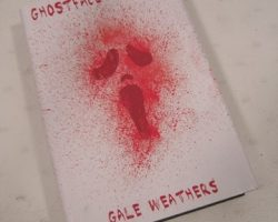 Scre4m Ghostface Returns Book Movie Props