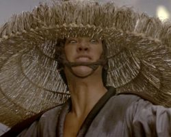 Big Trouble in Little China Peter Kwong Straw Hat