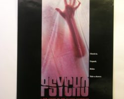 Psycho II Window Curtain and Posters