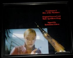 Terminator 3: Rise of the Machines Kristann Loken effects finger
