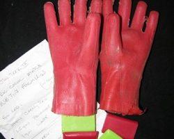 Star Trek Insurrection Helmet and Gloves