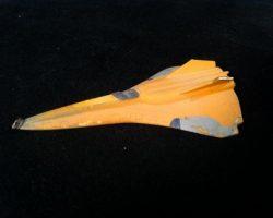 Enemy Mine Spaceship screen used miniature spaceship