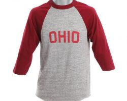 "Michael J. Fox ""Ohio"" shirt worn during the opening credits and episodes of Family Ties"