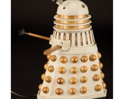 "Screen-used miniature Dalek from the Doctor Who episode ""Revelation of the Daleks"""