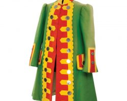 The Wizard of Oz Munchkinland resident top-coat designed by Adrian