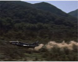 Grumman F9F-2 Panther filming miniature from The Bridges at Toko-Ri