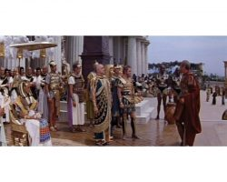 """Egyptian General John Doucette """"Achillas"""" costume from Cleopatra"""