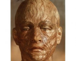 "Natalie Trundy ""Albina"" mutant mask from Beneath the Planet of the Apes"
