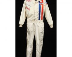 "Steve McQueen ""Michael Delaney"" original hero Gulf driving suit from Le Mans"