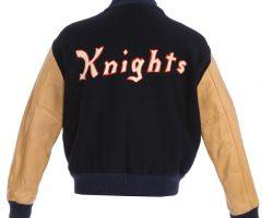"Jon Van Ness ""John 'Ollie' Olsen"" NY Knights complete home uniform from The Natural"