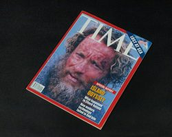 Cast Away Prop Copy of Time Magazine