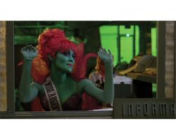 Collection of special effects skin appliances from Beetlejuice