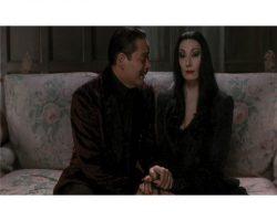 "Anjelica Huston ""Morticia"" costume from The Addams Family"