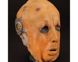 Peter Weller's stunt double mask from RoboCop