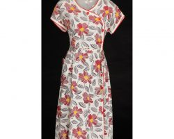 "Sally Fields ""Mrs. Gump"" floral dress from Forrest Gump"