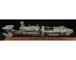 Rodger Young spaceship production maquette from Starship Troopers