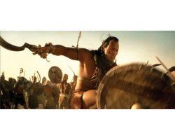 "Dwayne Johnson ""Scorpion King"" shield and sword from The Mummy Returns"