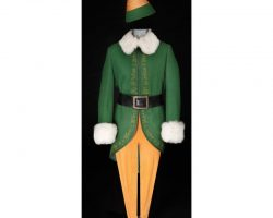 "Bob Newhart ""Papa Elf"" complete costume from Elf"