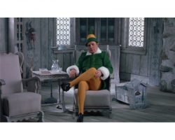 "Bob Newhart ""Papa Elf"" complete costume from Elf"