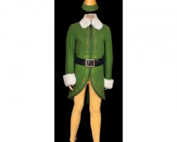 "Will Ferrell ""Buddy"" complete hero elf costume from Elf"