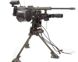 Prop Barrett .50 cal sniper rifle with controls from Mission: Impossible III