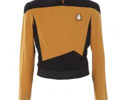 "Brent Spiner ""Lt. Commander Data"" tunic from Star Trek: The Next Generation"
