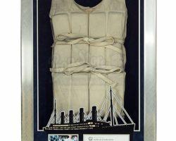 Titanic  Framed Life Vest